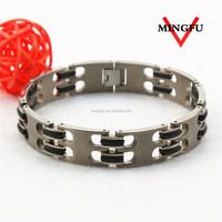 Top design 316L SS heavy metal bracelets