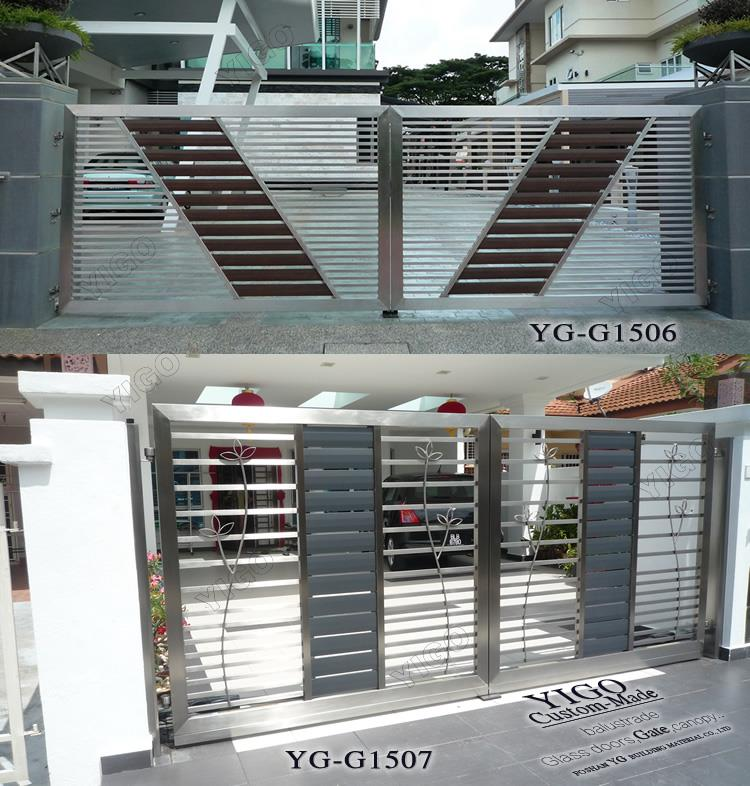 Main Gate Design Home Iron Gate And Fence