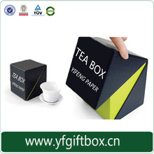 Top quality cardboard paper gift box china green tea packaging box wholesale