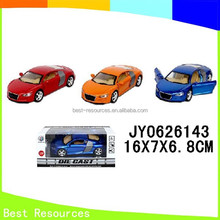 Corlorful Die Cast Car Small Metal Toy Cars Pull Back Children Model Toy Car