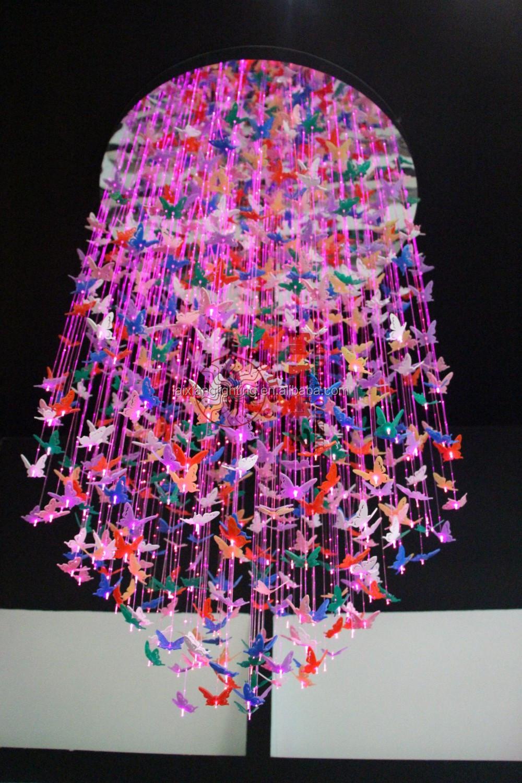 Prezzo a buon mercato farfalla lampadari per la celebrazione Villa ...