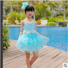 Kids Girl Summer Prom Dresses Beautiful New Princess Net Contract Color Dress