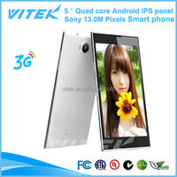 5.0'' ShenZhen manufaturer Quad core omes mobile phone dual sim card