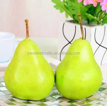Artificial Weighted Green Pears Fake Faux Fruits and Vegetables fake foam fruit orange