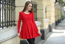 2014 de moda las mujeres elegante vestido casual para damas del oem