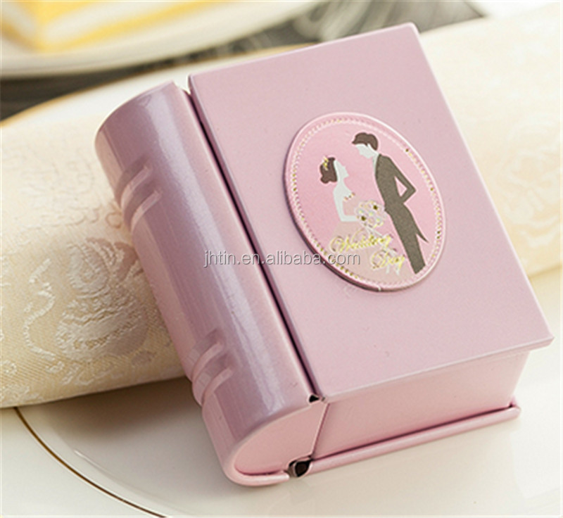 Mini Book Shape Wedding Tin08 Jpg