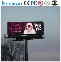 Leeman p10 SMD p10 outdoor full color led display signs led outdoor digital information board