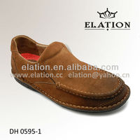 DH 0595-1 Comfortable leather casual shoes for menwhich from manila shoe brand