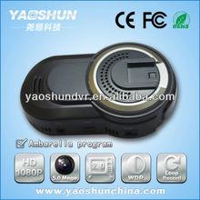 CE FCC RoHs 1080p 30fps Lens sensor 140 lens angle 2.0'' GPS G-sensor vision Radar detector Cheap Dash Car Camera