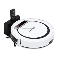 2015 good white automatic robot vacuum cleaner for home