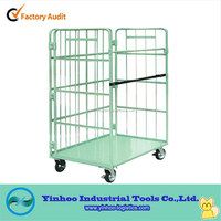 foldable roller container,roll pallets Chinese trolley/dolly/cart manufacturer