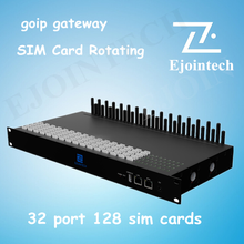 Ejointech hot sale, best price 32 channel option 128 SIM gsm goip gateway