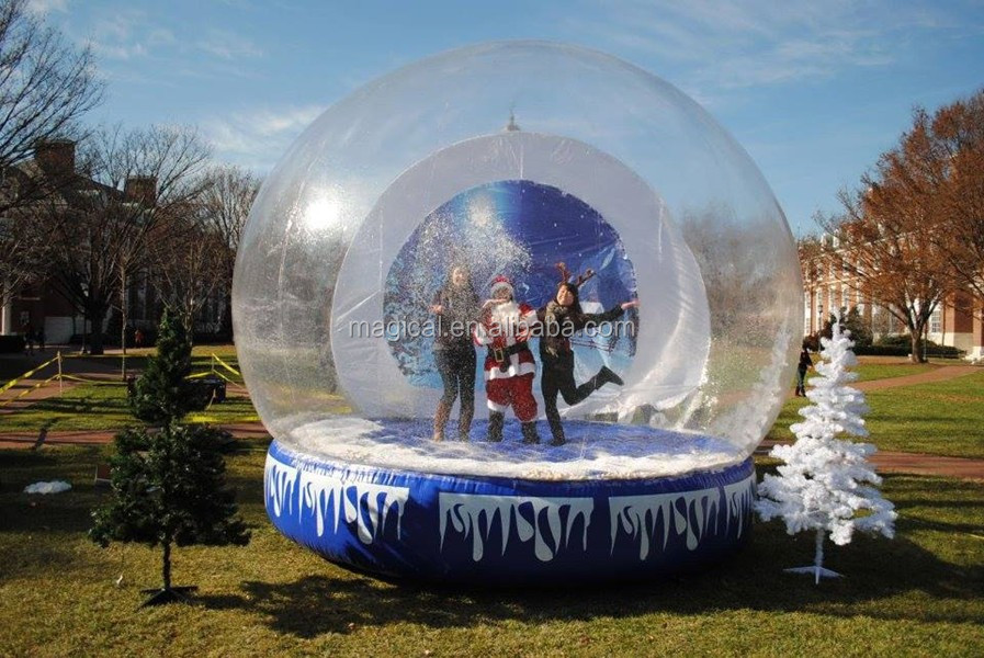 Best 28 outdoor snow globes outdoor transparent for Outdoor christmas globes