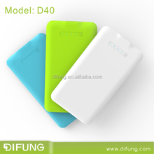Credit Card Slim Portable Cellphone Charger 4000mAh
