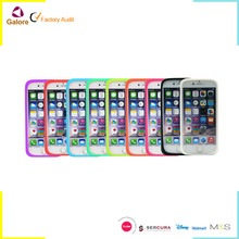 Universal silicone smart phone case bumper frame case for all phone