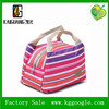 Recyclable cheap portable zipper insulated lunch bag