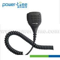For all Digital two way radio IP55 waterproof & dustproof submersible type Medium-Duty speaker microphone (PTE-1309)
