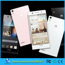 4.7'' Quad Core Mobile Phone Huawei Ascend P6 Dual SIM Android Smart Mobile Phone