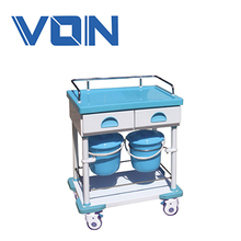 China ABS Medical Supply Carts , Mobile Ambulance Trolley For Nurse