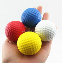 good quality promotional pu foam golf free anti stress ball bulk