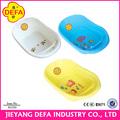 venta al por mayor producto de portátiles de plástico de plástico bañera bebé bañera baratos sólido superficie de la bañera