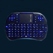 Rii i8+ 2.4G Wireless Mini Fly Mouse Keyboard With Backlight LED for buttons