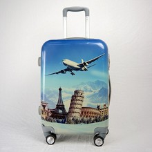 4 wheels luggage, suitcase