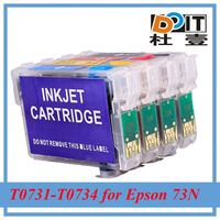 Accept paypal 73N refilled ink cartridge for Epson Office T1100 with ARC chip