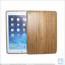 Carbonized bamboo back cover for ipad air, for apple air bamboo cover