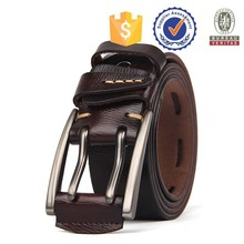 Fashion Pin buckle belts for men , cow leather belt wholesale