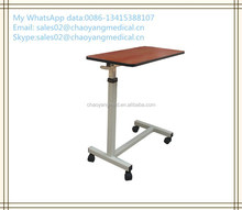 CY-H836A hospital bed side table/hospital bed table with drawer/hospital bed dining table