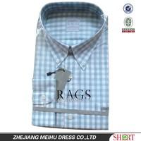 button down collar plaid men shirts of high quality and mode design garment dress shirt