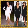 Hottest fashion new bandage dress hotest 2015 bandage dress