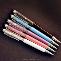 Hot sale crystal diamond multi-function ballpoint pen touch screen ball pen stationery school supplies