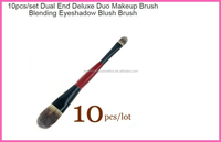 promotiional single brush double- end brush blending eyeshadow blush brush for makeup