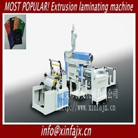 SCFA 900 Most popular high speed PP PE with non woven fabric extrusion coating and laminating machine