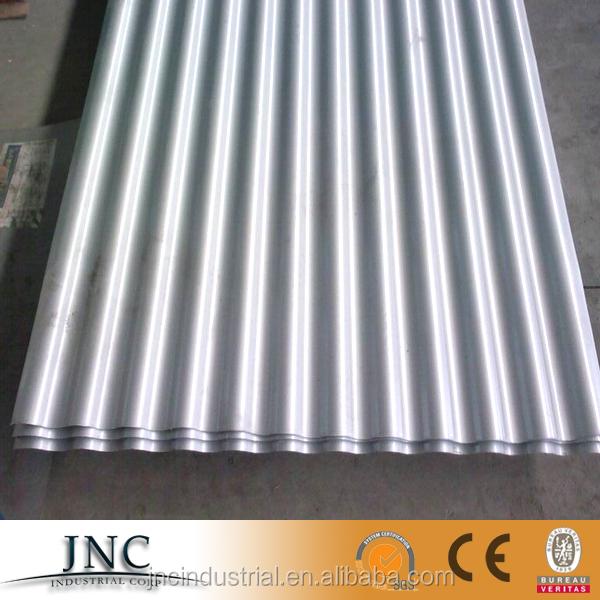22 Gauge Corrugated Galvalume Galvanized Sheet Gi Plain