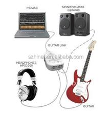 A granel cuerdas de guitarra, guitarra Cable de conexión, Guitar Link Cable interfaz