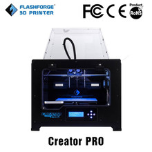 2014 dual extruder metal frame Flashforge Creator Pro 3d printing firms