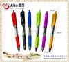 Retractable Premium gel ink roller ball pen,colored
