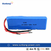 SUNB 18650 14.4v 12000mah high capacity lithium ion battery pack for electronic product
