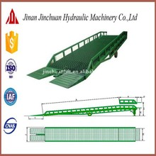 good performance lift table/mobile hydraulic yard ramp introduction