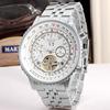 silver case white