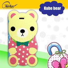 Kube bear series flip cover mobile phone case