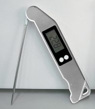 Quality Guarantee Folded Shape Digital Internal Cooking Thermometer/ Digital Internal Meat Thermometer