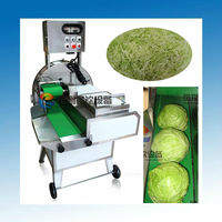 FC-306 Industrial Lettuce Slicer Machine, Cabbage Celery Spinach Chili Leek ect (#304 SUS) (Thickness Adjustable).....Nice!