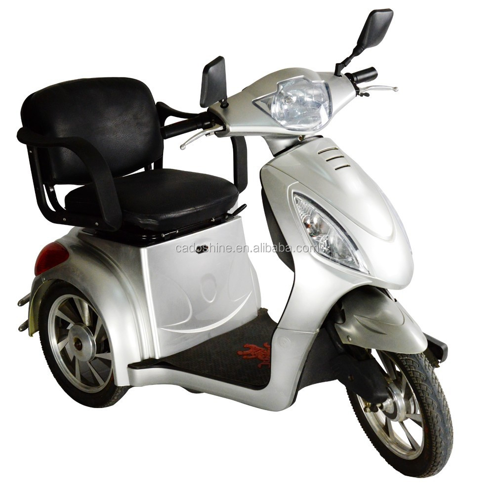 Electric motor scooters for adults for 3 wheel motor scooter for sale