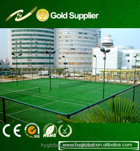 20mmSports flooring Hockey/Padel/Tennis/basketball /Badminton fibrillated yarn artificial grass turf lawn sports synthetic turf