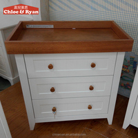Factory Supply 3 drawer file storage cabinet, chest of drawers design, oak small wooden drawers