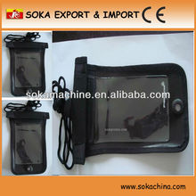 PVC mobile phone arm bag for Swimming